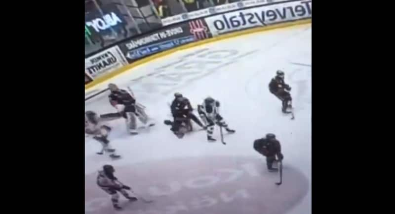 Tilanteesta löytyi sittenkin video – Martin Berger iski Niklas Frimania törkeästi naamaan