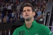 Video: Novak Djokovicilta liikuttava kenttähaastattelu -