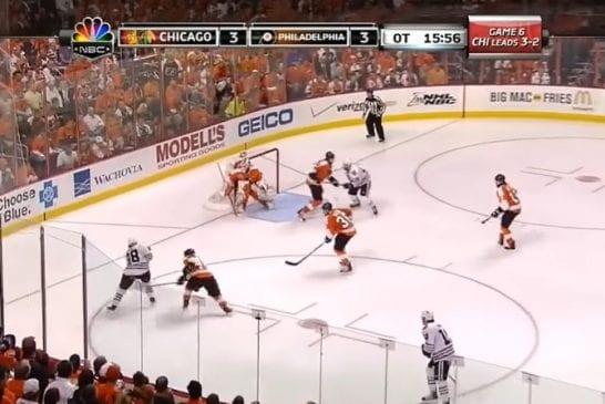 Video: Patrick Kanen Stanley Cupin ratkaissut jatkoaikaosuma valittiin vuosikymmenen NHL-maaliksi