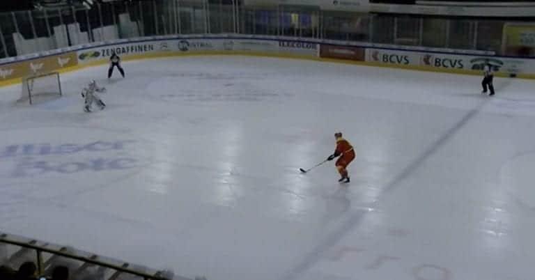 Video: Sveitsin NLB-liigassa nähtiin huikaiseva rankkarimaali