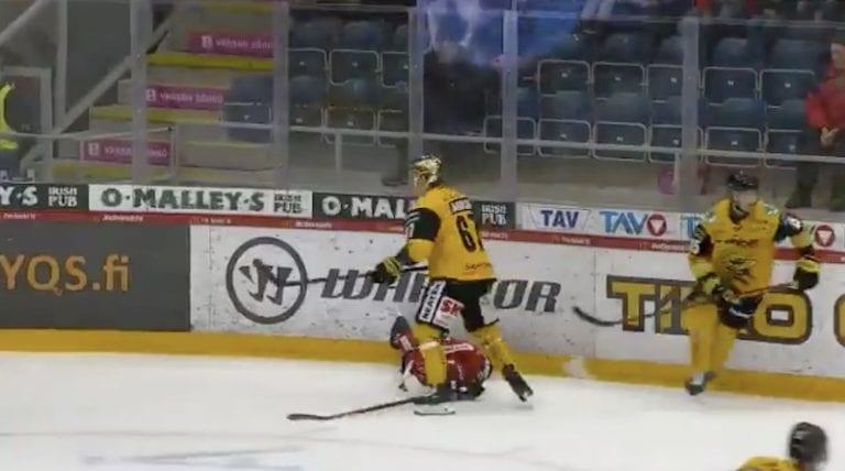 Video: Tomas Zaborskyn taklaus kävi kalliiksi – sai peräti kuuden ottelun pelikiellon