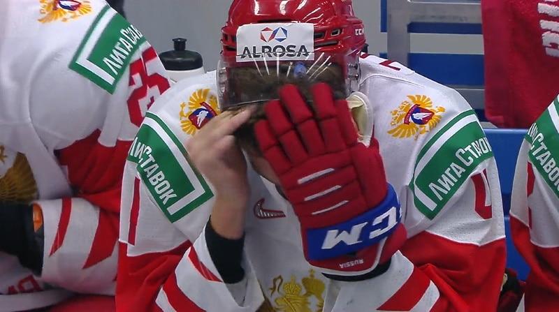 """Jopa Vladimir Tarasenko meni venäläiskanavan """"hämyyn"""" U20 MM-finaalin aikana"""