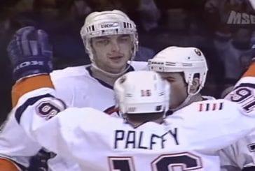 Klassikkovideo: Zdena Chara iski NHL-uransa avausmaalin tasan 21 vuotta sitten