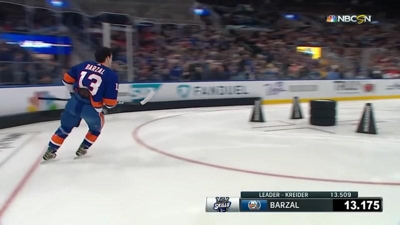 Video: Connor McDavidin ylivalta on ohi – Islandersin Mathew Barzal voitti luistelukisan lähes ennätysajalla