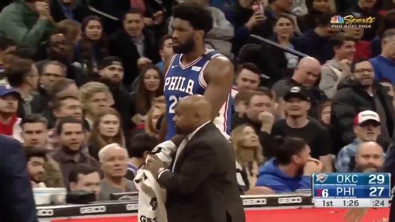 Joel Embiid Philadelphia 76ers / Pallomeri.net