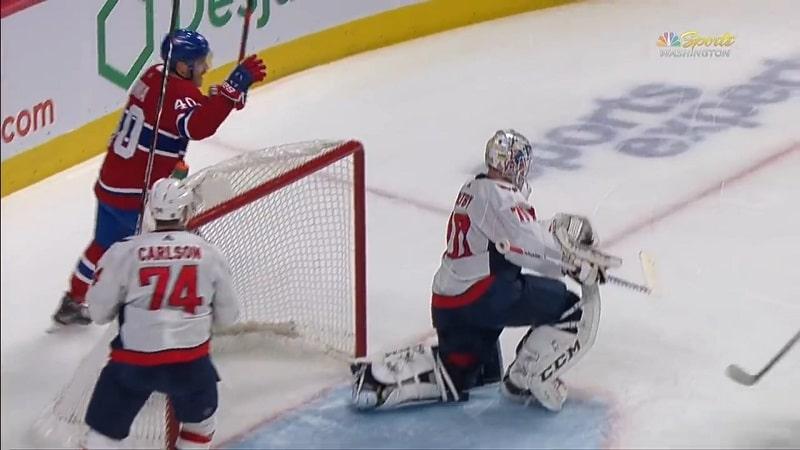 Joel Armia Montreal Canadiens & Braden Holtby Washington Capitals / Pallomeri.net