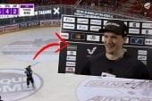 Video: Lauri Korpikoski viihdytti mailankäsittelynäytöksellään - jatkoi värittelyä tv-haastattelussa
