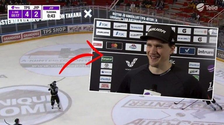 Video: Lauri Korpikoski viihdytti mailankäsittelynäytöksellään – jatkoi värittelyä tv-haastattelussa