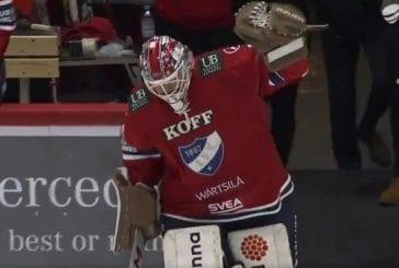 Video: HIFK:lta tyylikäs veto - 46-vuotias Jan Lundell pelasi viimeisen minuutin ja teki historiaa