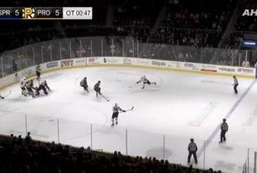 Video: Aleksi Saarela oli illan sankari AHL:ssä - dramaattinen tasoitus ja voittomaali jatkoajalla
