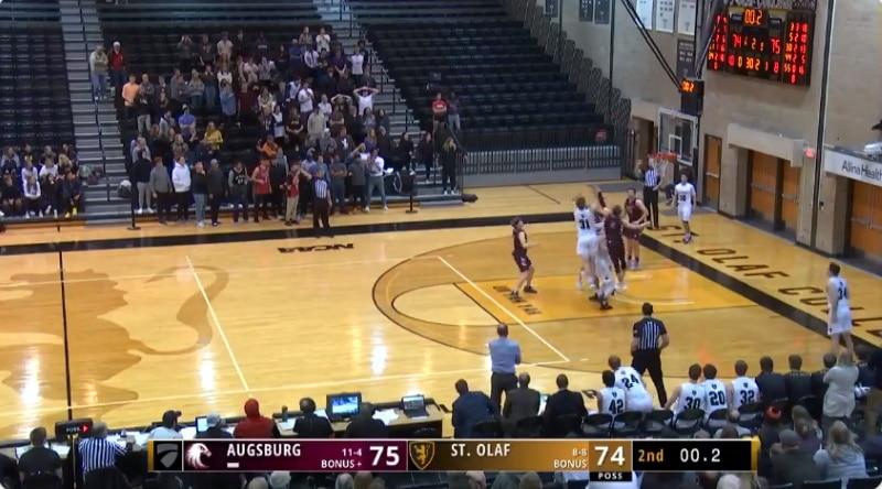Video: Yliopistokoripallossa ruma tuomarifarssi – fantastinen viimeisen sekunnin voittokori hylättiin