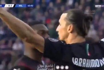 Video: Zlatan Ibrahimovic ei kauaa aikaillut - maalasi tylyllä sijoituksella paluupelissään