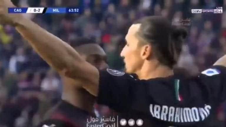 Video: Zlatan Ibrahimovic ei kauaa aikaillut – maalasi tylyllä sijoituksella paluupelissään