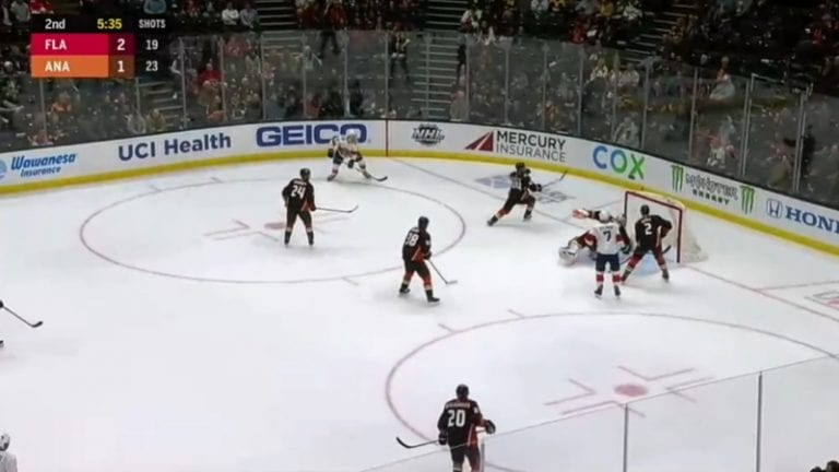 Video: Florida Panthersin Aleksi Saarela iski NHL-uransa avausmaalin
