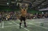 Video: Eddie Hall teki hämmästyttävän tempauksen ME:n crossfit-kisoissa