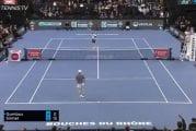 Video: Jannik Sinner esitteli uskomattoman reaktiosuorituksen Marseillen ATP-turnauksessa