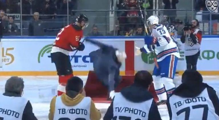 Klassikkovideo: Jose Mourinho & legendaariset pannut KHL-matsissa