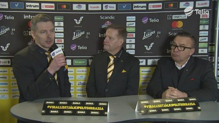 """Video: SaiPan Tero Lehterä avautui pressissä – """"Vi****aa niin sa*****sti!"""""""