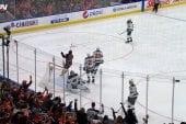 Video: NHL:ssä nähtiin älyttömän onnenkantamoinen maali - Leon Draisaitl asialla