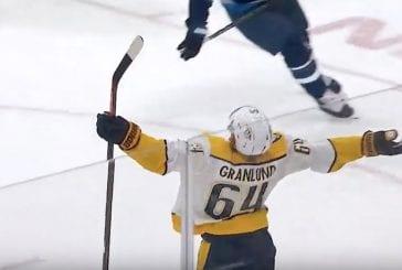 Video: Mikael Granlund jatkaa upeassa vireessä – täräytti jälleen voittomaalin Nashvillelle