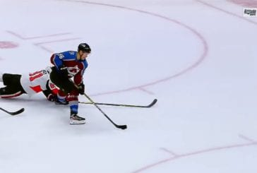 Video: Mikko Rantanen viimeisteli fantastisen osuman Ottawaa vastaan