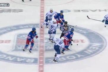 Video: New York Rangers osui kahdesti kuuteen sekuntiin