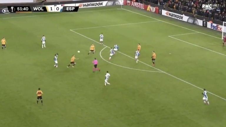 Video: Wolvesin Ruben Neves iski hävyttömän volley-maalin Eurooppa-liigassa
