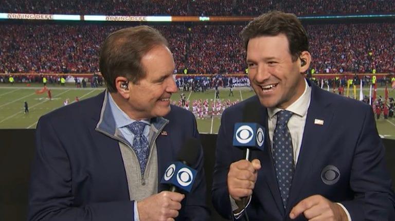 NFL-legenda Tony Romo allekirjoitti käsittämättömän kommentaattori-sopimuksen CBS:n kanssa
