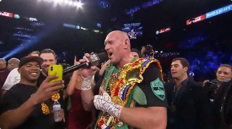 Tyson Fury american pie wilder - pallomeri.net