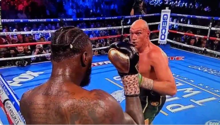 Video: Tyson Fury antoi kunnolla turpaan Deontay Wilderille – mestarin kulmasta heitettiin pyyhe kehään