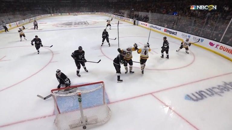 Video: Sidney Crosby tuuletti turhaan – kaikki näkivät omiaan, video paljasti Penguinsin huonon tuurin