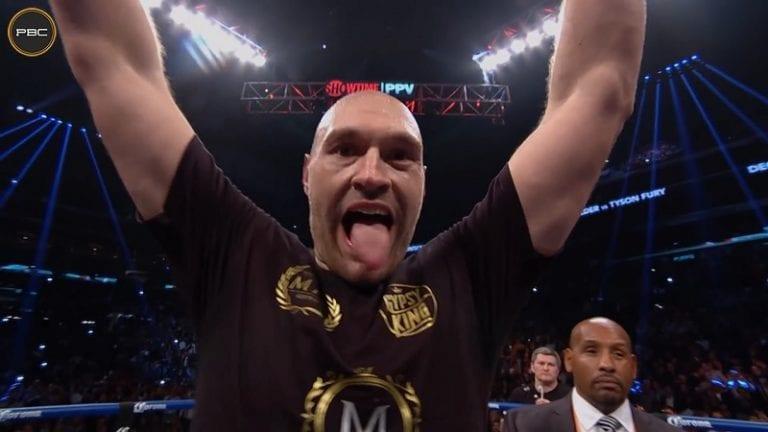 """Tyson Fury mykisti harjoittelusta kysyneen toimittajan – """"Olen nuollut paljon p****a"""""""