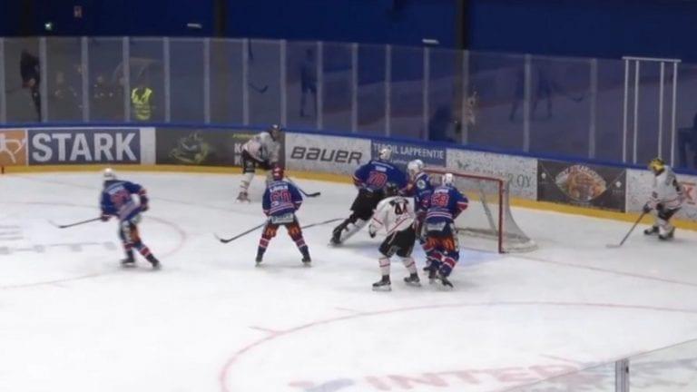 Video: Ketterälle nolo takaisku – Peliittojen Severi Lahtinen iski maaliviivan takaa