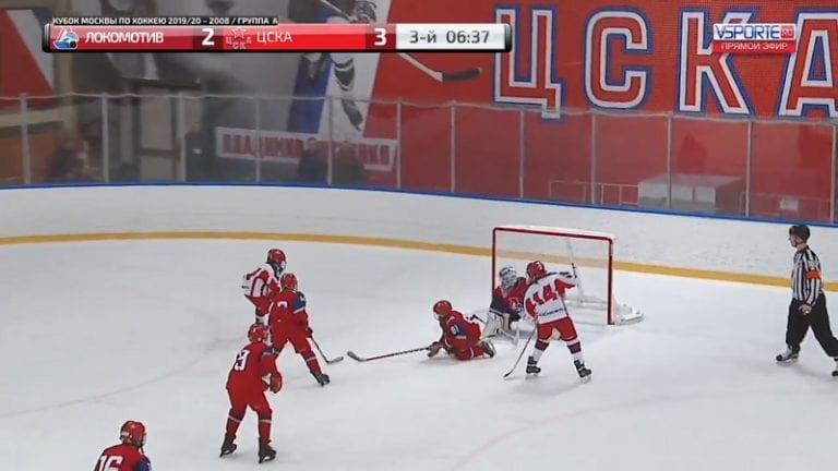 """Video: Lokomotiv Jaroslavlin 11-vuotias veskari häikäisi – pysäytti 2 vs 1 -hyökkäyksen """"Vasilevski-torjunnalla"""""""