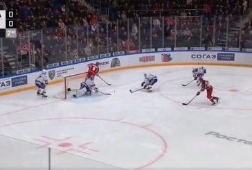 Video: CSKA namutteli häikäisevän maalin KHL:ssä - kaksi no-look -syöttöä sai SKA:n sekaisin