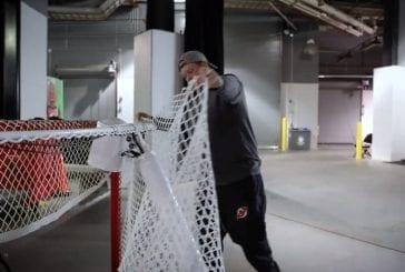 Video: New Jersey Devilsiltä upea ele - Alexander Ovechkin saa historiallisen maaliverkon itselleen