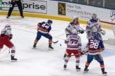 Video: Islandersin hyökkäjäällä kävi melkoinen munkki - kiekko hukkui kaikkien tutkasta