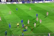 Video: Getafen pelaaja jäi kierimään taklauksesta - Ajaxin Ryan Babel pilkkasi säälimättä