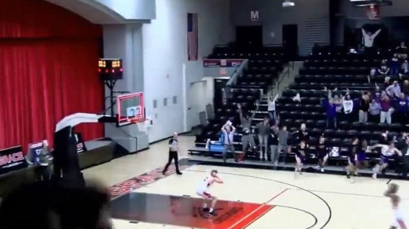 Video: Aivan järjetöntä draamaa yliopistopelissä – kaukokolmoset molempiin päihin 1.6 sekunnissa
