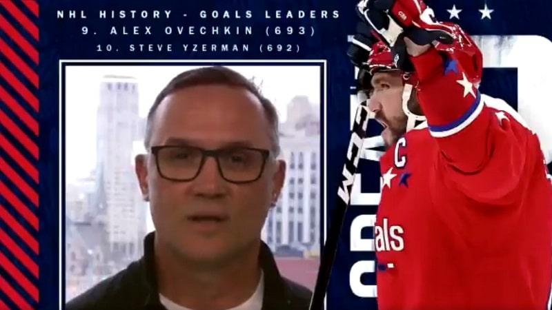 Steve Yzerman Detroit Red Wings / Pallomeri.net