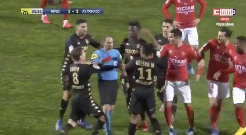 Gelson Martins Ligue 1 AS Monaco / Pallomeri.net