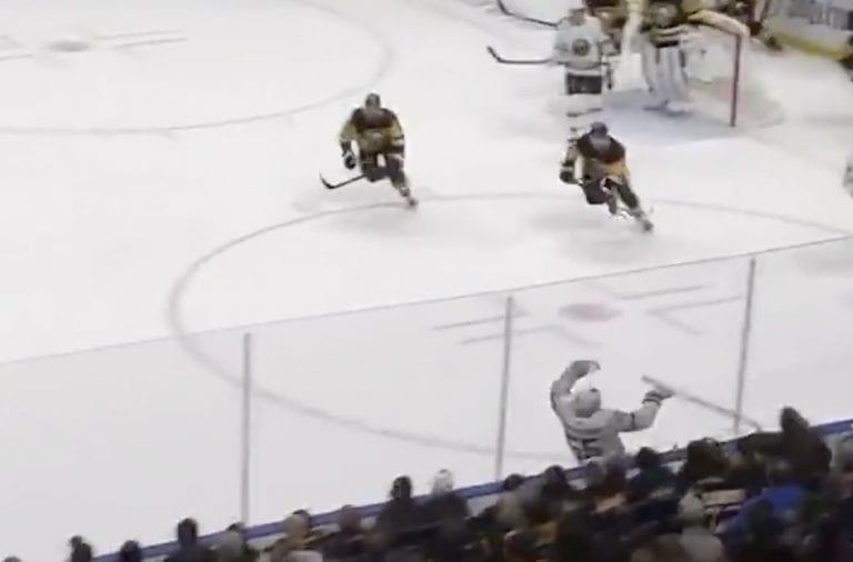 Video: Uskomatonta komiikkaa NHL:ssä – Rasmus Ristolainen ajoi itsensä kylmäksi