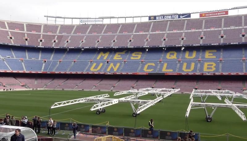 TOP5-listaus: Tässä on maailman suurimmat jalkapallostadionit!