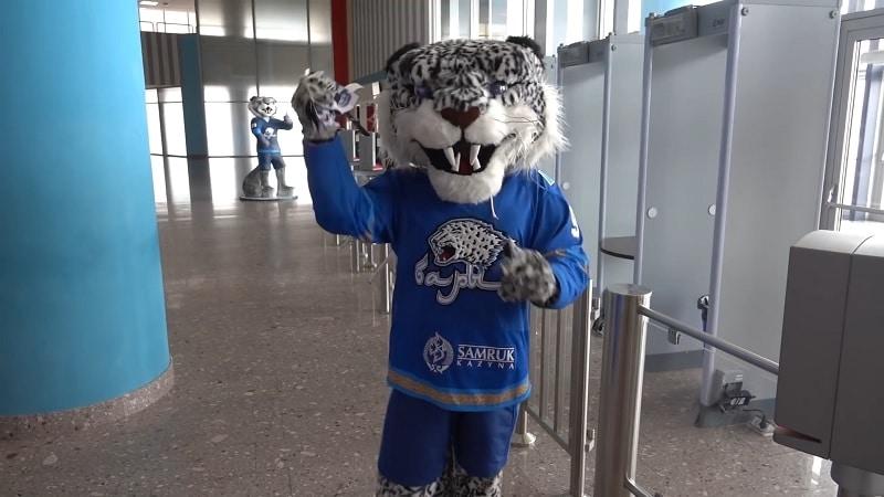 Barys Nur-Sultan maskotti KHL / Pallomeri.net