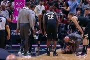 Video: Bucks-pelaaja sai ikävän yllätyksen puolustaessaan - heittävä vastustaja jysäytti säkeille