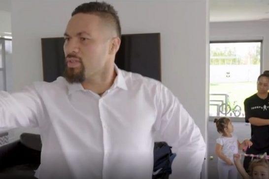 Video: Raskaan sarjan ex-mestari laittoi jalalla koreasti -