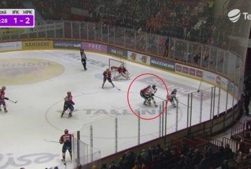 Video: HPK:n Henri Kanninen sai viiden ottelun pelikiellon