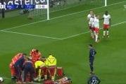 Video: Pelottava tilanne Mestarien liigassa - Leipzig-pelaaja nielaisi kielensä ja menetti tajuntansa