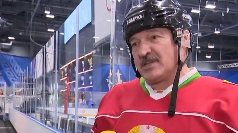 Valko-Venäjän presidentti Aleksader Lukashenko / Pallomeri.net