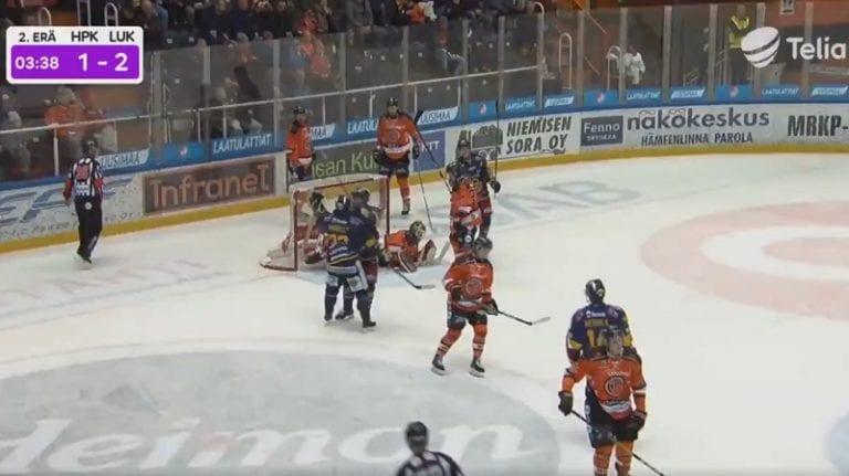 Video: Lukon ruotsalaispeluri uunotti HPK:n alakertaa – Gustav Possler tarjoili aivan tajuttoman passin